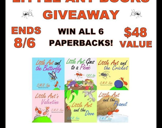 Little Ant Books Series Giveaway