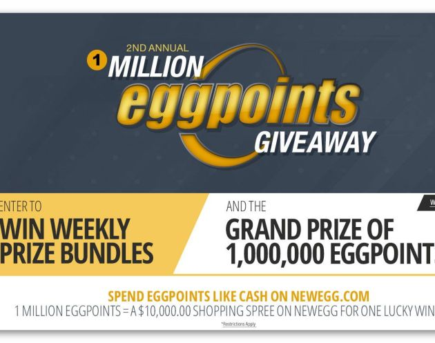 2nd Annual 1 Million EggPoints Giveaway Sweepstakes