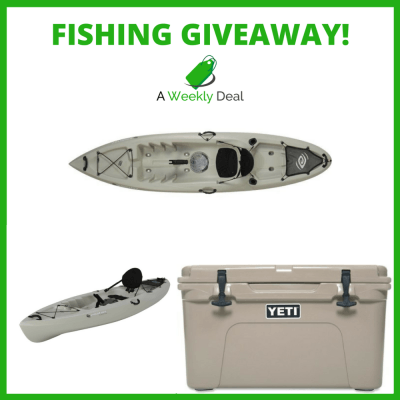 Ultimate Fishing Giveaway – Fishing Kayak & Yeti Cooler