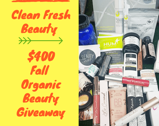 Win $400 Worth of Organic Makeup and Skin Care Products