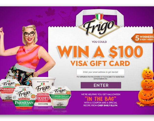 Frigo Cheese In The Bag Sweepstakes