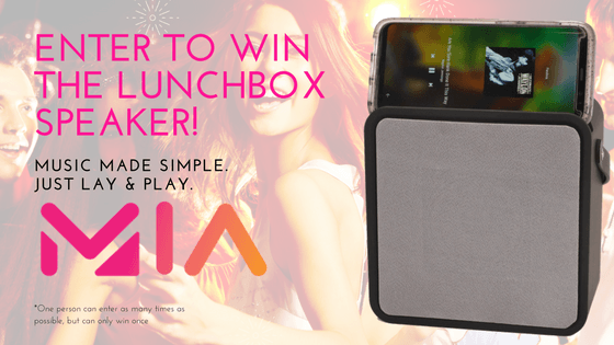 Win a Lunchbox Speaker