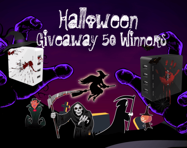 QICENT Halloween Giveaway