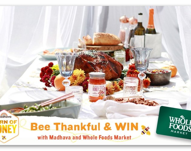 Madhava Bee Thankful Sweepstakes