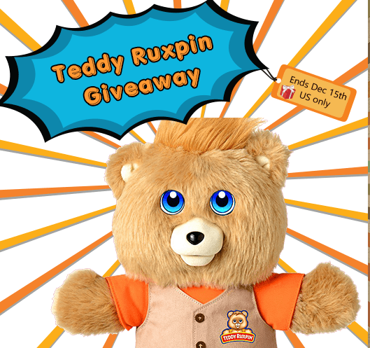 Teddy Ruxpin Giveaway