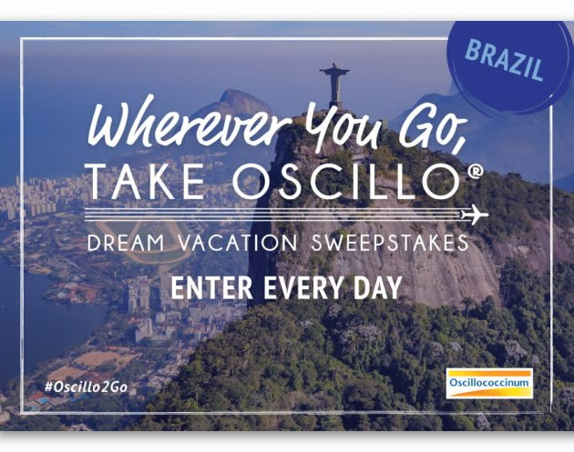 Wherever You Go Take Oscillo Sweepstakes