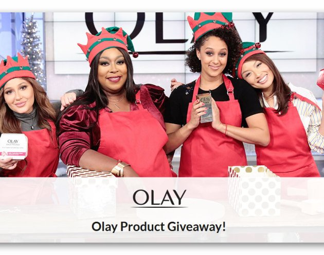 The Real - Olay Holiday Giveaway