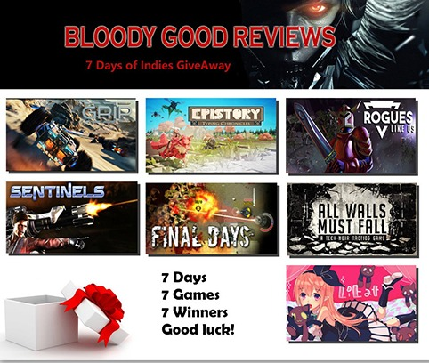 7 days of Indies Giveaway