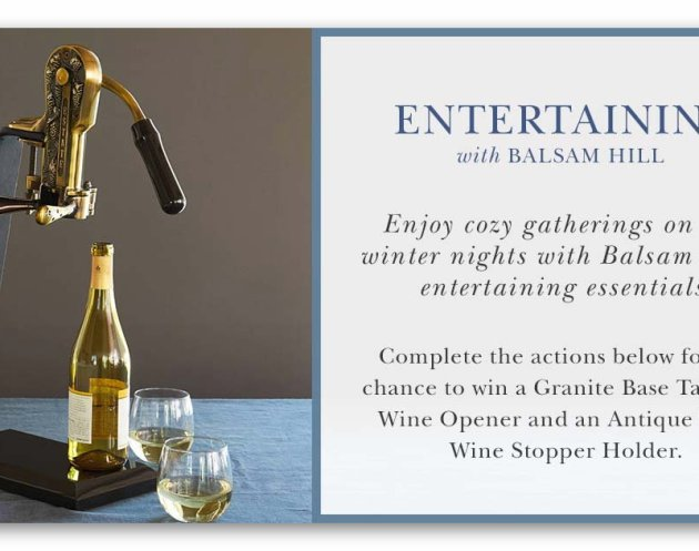 Win Tabletop Wine Opener & Wine Stopper