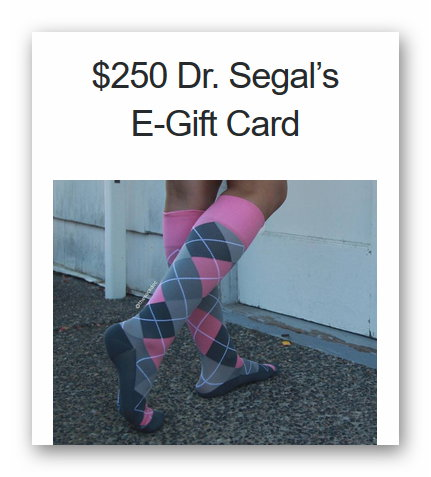 Win a $250 Dr. Segal's Gift Card Giveaway