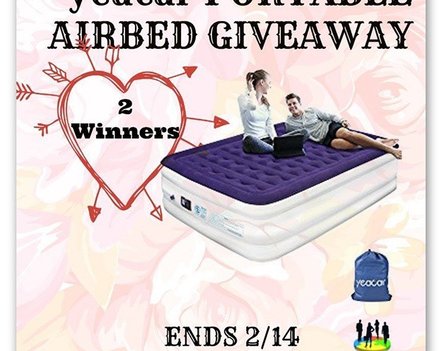 Win a Queen Size Portable Airbed Giveaway