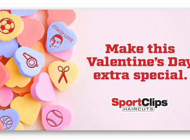 Sports Clips Valentine's Day Gameplan Sweepstakes