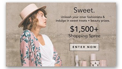 Win a $1,500 Shopping Spree