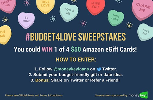 MoneyKey #Budget4Love Sweepstakes
