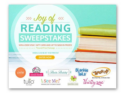 Joy of Reading Sweepstakes