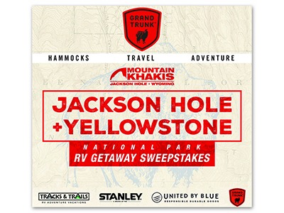 National Park RV Getaway Sweepstakes