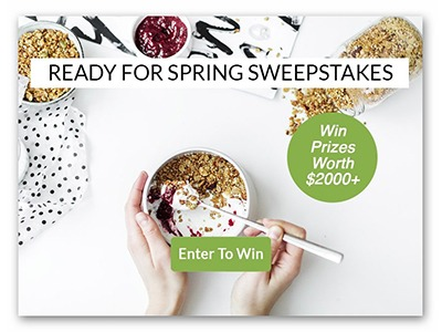 Ready for Spring Sweepstakes