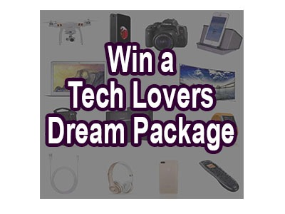 Tech Lover's Dream Package Giveaway
