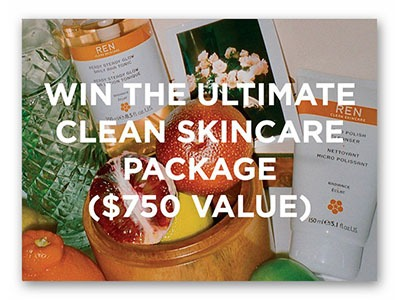 Win the Ultimate Clean Skincare Package