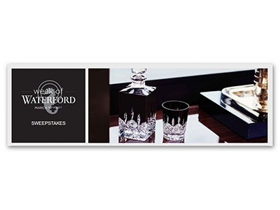 Week of Waterford Sweepstakes