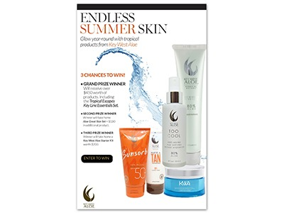 Endless Summer Skin Sweepstakes