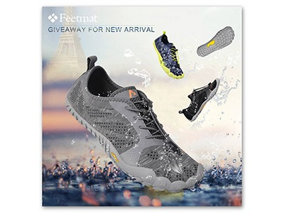 Feetmat Water Shoes Giveaway