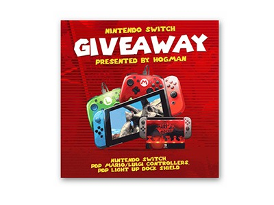 Super Mario Odyssey Nintendo Switch Giveaway