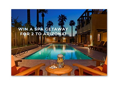 Win a Spa Getaway for 2 to Arizona