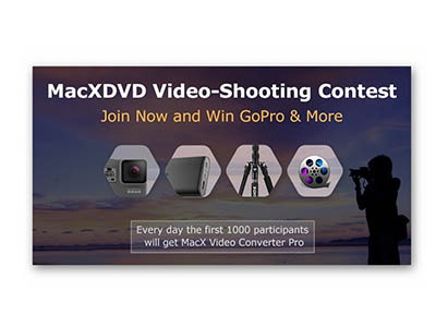 Win a GoPro and More from MacXDVD
