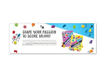SweeTARTS Shape Your Passion Sweepstakes