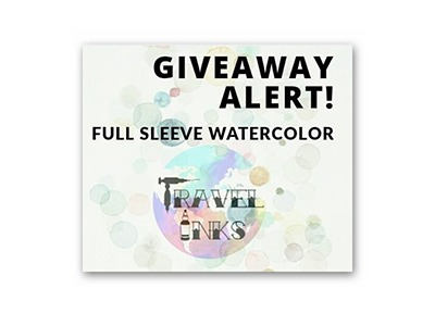 Win a Full Sleeve Watercolor Tattoo
