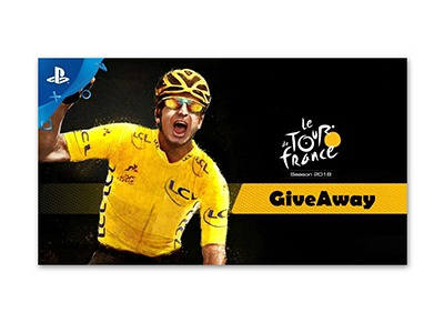 Tour De France 2018 for PS4 GiveAway
