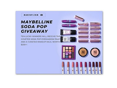 Maybelline Soda Pop Giveaway