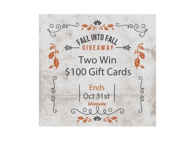 Fall into Fall Gift Card Giveaway