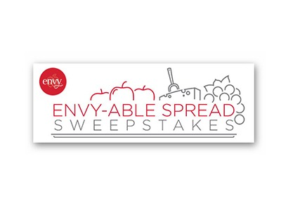Envy-Able Spread Sweepstakes