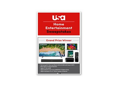 USA Network Home Entertainment Sweepstakes