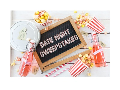 win gift cards date night sweepstakes