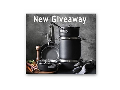 Win a 10 Piece Cookware Set