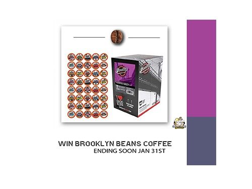 Brooklyn Beans Coffee Giveaway