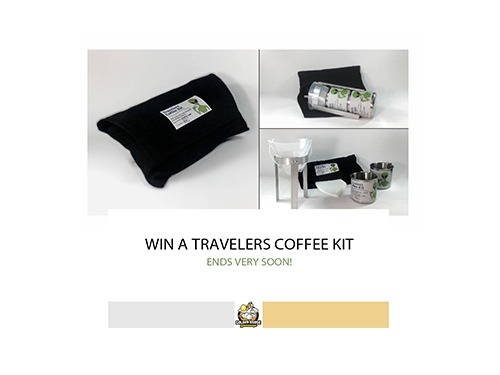 Win a Travelers Coffee Kit