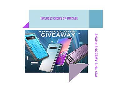 Win a Samsung Galaxy S10