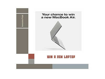 Win an Apple MacBook Air Laptop