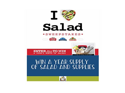 I Heart Salad Sweepstakes