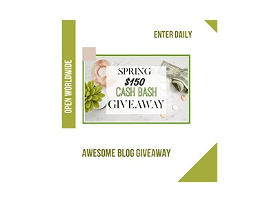 Spring Cash Bash Giveaway
