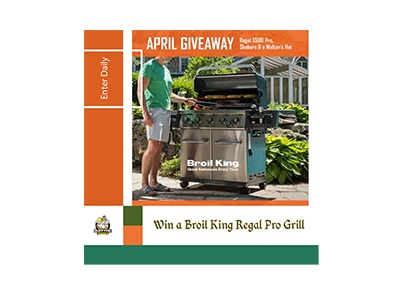 Win a Broil King Gas Grill