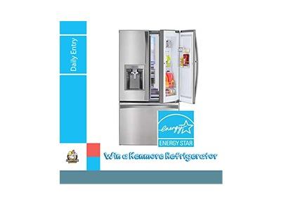 Win a Kenmore Elite Refrigerator