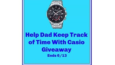 Father's Day Casio Giveaway