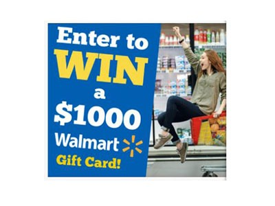 Win a Walmart Shopping Spree