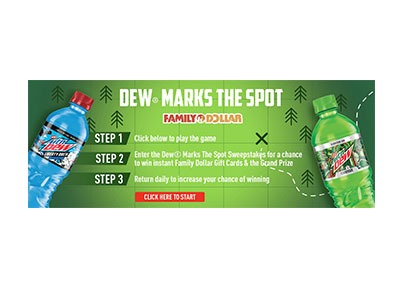 Mountain Dew Instant Win Game