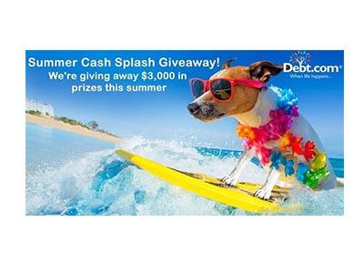 Summer Cash Splash Giveaway